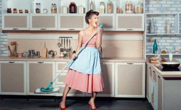 Как получить удовольствие от уборки квартиры