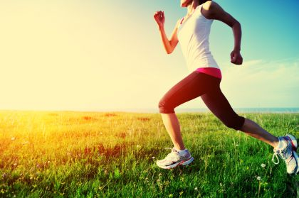Медитативный бег - легко и полезно.