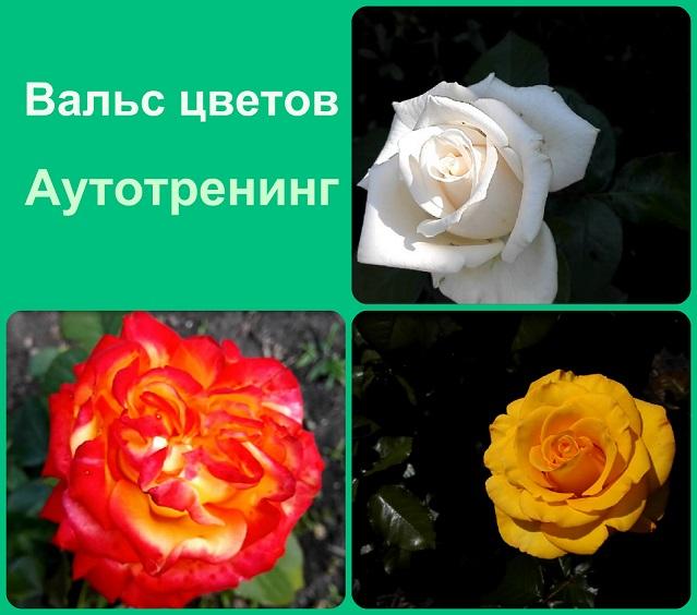 """Аутотренинг  """"Вальс цветов"""""""