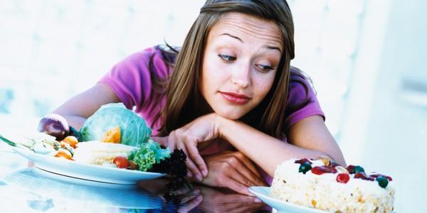Жор после диеты.