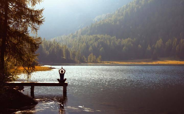 В глубине озеро всегда спокойно